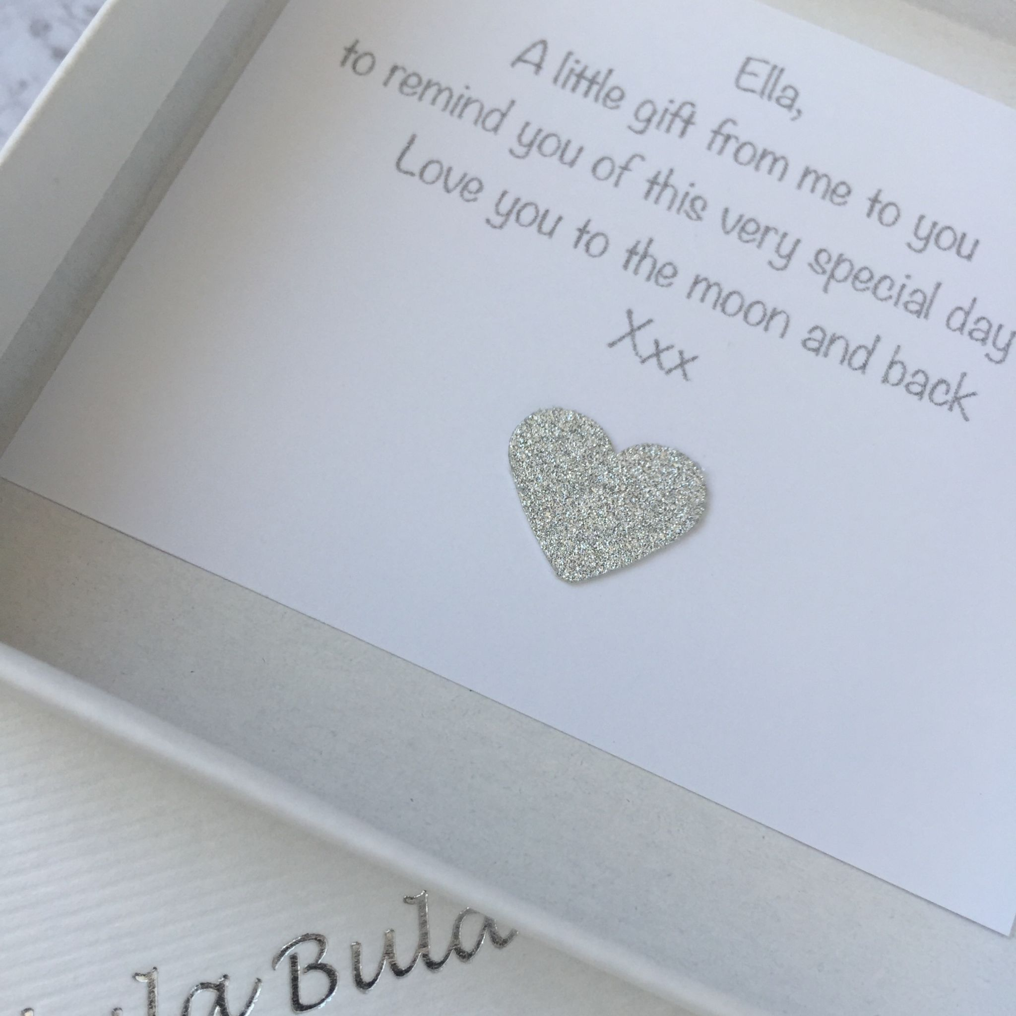 1st Birthday Silver Jewellery Gift For A Goddaughter